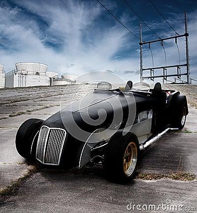 Car roadster classic