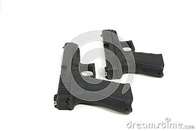 Two semi automatic pistols