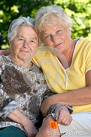 Free Two Senior Women Royalty Free Stock Photos - 1144588