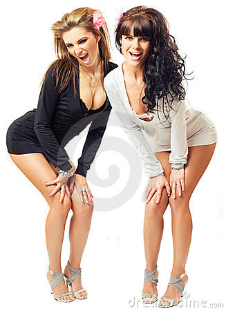 Free Two Sexy Girls Stock Photos - 5084873