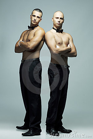 Two sexy men