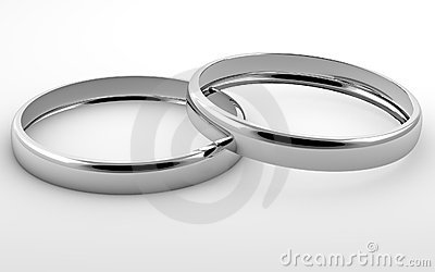 Two silver rings