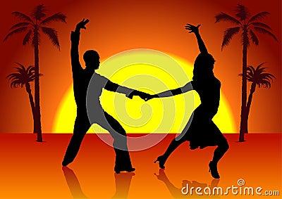 Two Spain Dancers