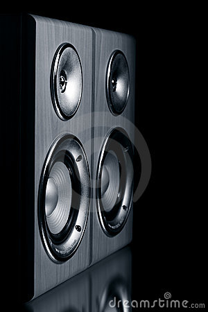 Free Two Speaker Systems Royalty Free Stock Photography - 17837967