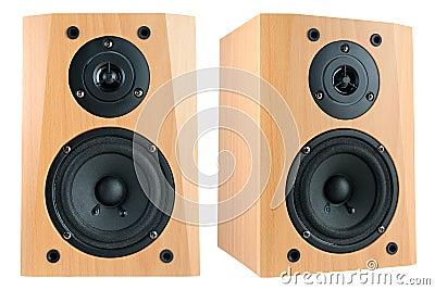 Two speakers