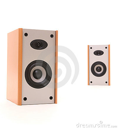 Free Two Speakers In Perspective Royalty Free Stock Photos - 5402168