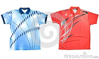 Two sports shirts