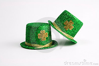 Two St. Patrick s Day hats