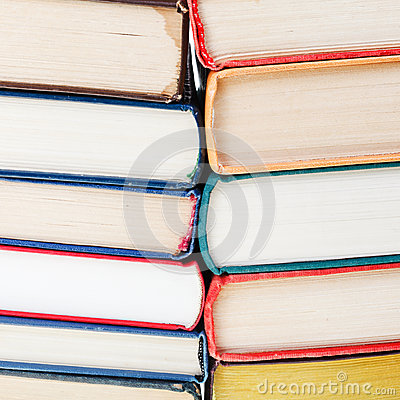 Free Two Stacks Of Books Close Up Royalty Free Stock Image - 36181776