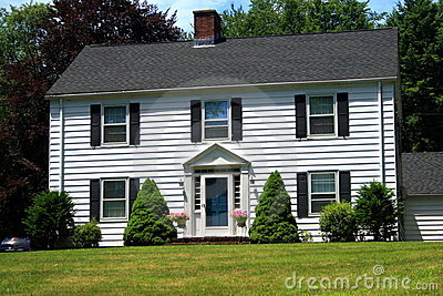 Two Story New England House