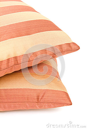 Two striped pillow