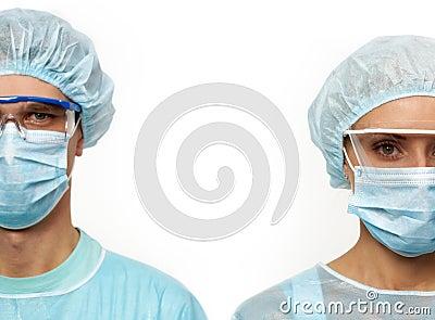Two surgeons