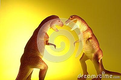 Two T-Rex