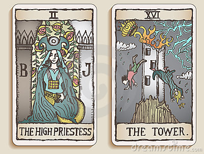 Two Tarot Cards v.2