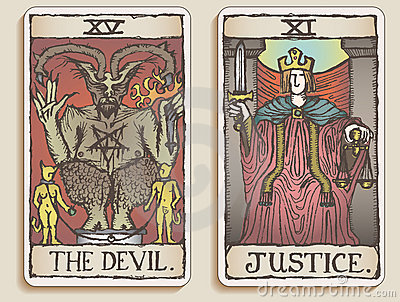 Two Tarot Cards v.3