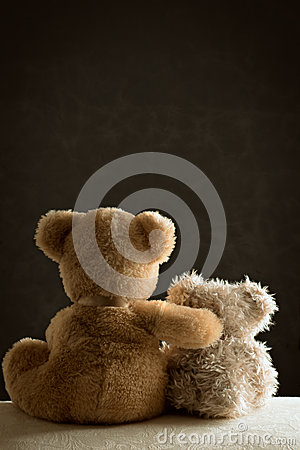 Free Two Teddy Bears Royalty Free Stock Photos - 38163668