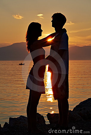 Free Two Teenagers On The Beach II Royalty Free Stock Photo - 15489495
