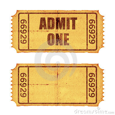 Free Two Tickets Stock Photos - 1173123