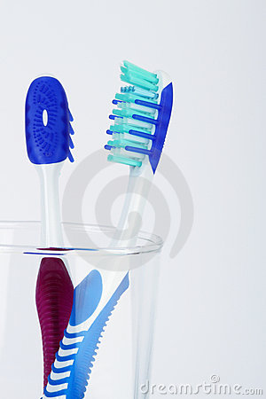 Two tooth brush