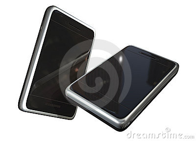 Two touch screen phones