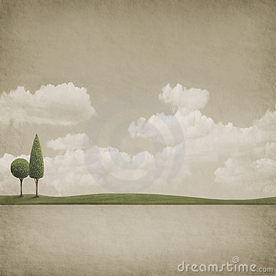 Free Two Trees Royalty Free Stock Photography - 12130217