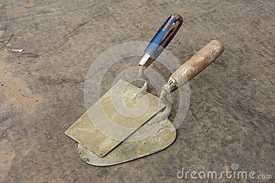 Two trowel