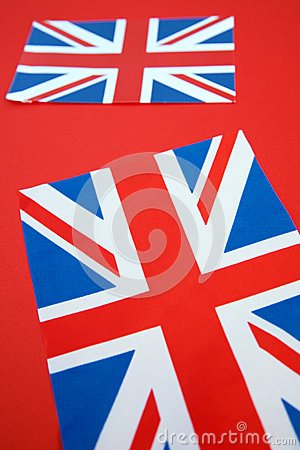 Two Union Jack Flags