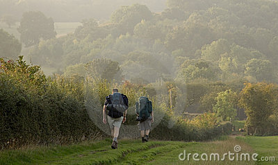 Two walkers