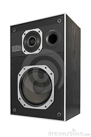 Two way hifi audio speaker