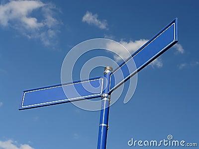 Two-way roadsign