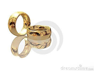 Two wedding ring