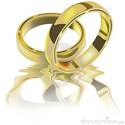Free Two Wedding Rings Stock Images - 4325754