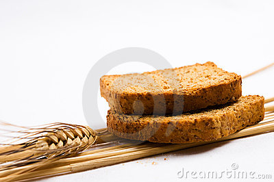 Two wheat toast
