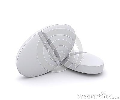 Two white pills