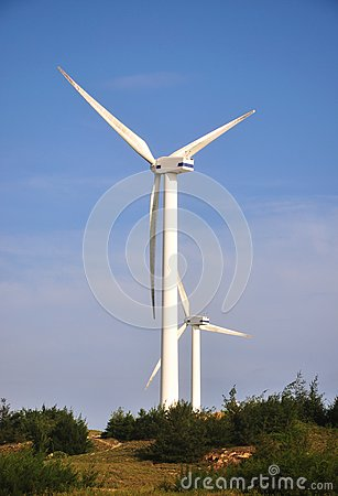 Two Windmill power generator