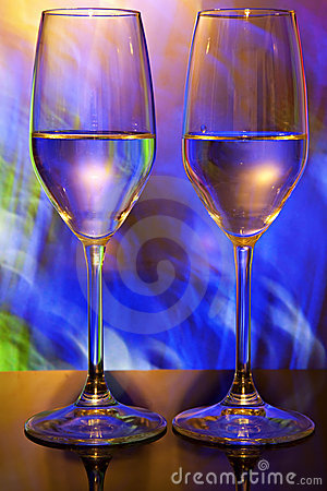 Free Two Wine Glasses Royalty Free Stock Image - 12782016