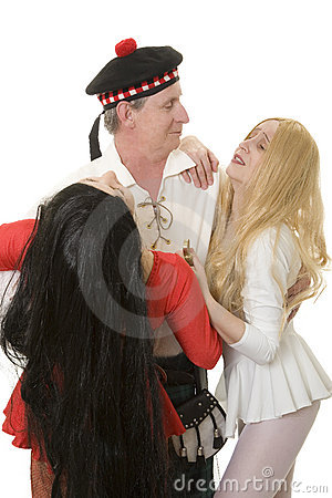 Two women fighting over man
