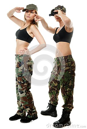 military clothing for women