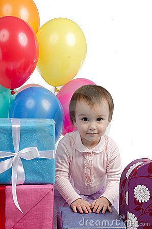 Two Years Old Happy Birthday Celebration