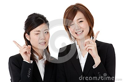 Two Young Business People Stock Photography - Image: 28327122