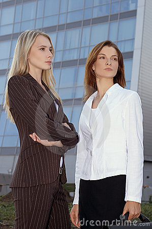 Two young businesswomen 5