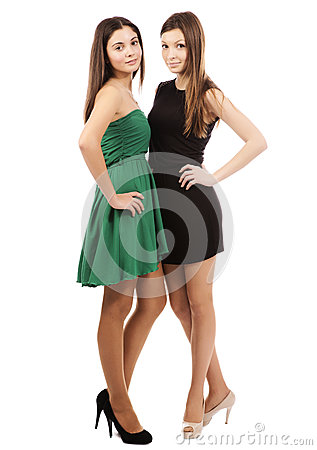 Free Two Young Sexy Women Stock Photography - 27790702