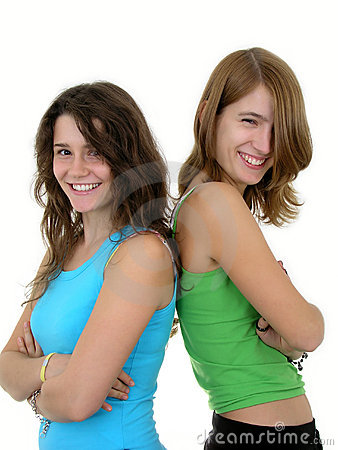 Free Two Young Women Smiling Royalty Free Stock Photography - 291687