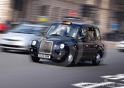 Táxi de táxi de Londres