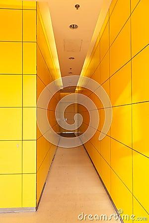 Żółty korytarz