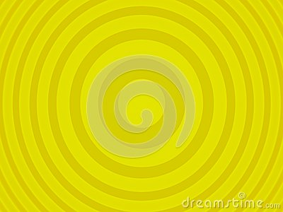 Żółty target