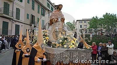 Tydzień Wielkanocny w Hiszpanii zdjęcie wideo