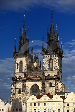 Tyn chapel in Prague