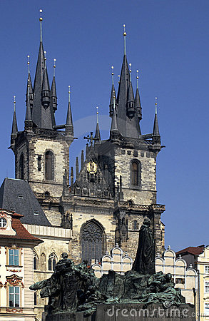 Tyn Church - Prague - Czech Republic