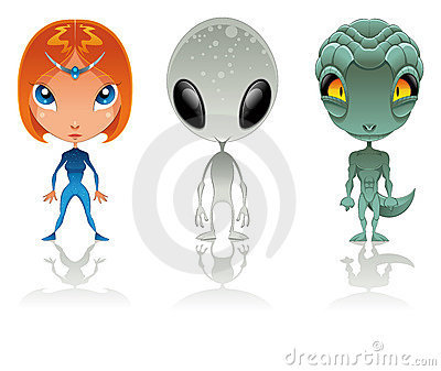 Types of aliens